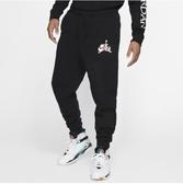 NIKE服飾系列-JUMPMAN CLSCS FLC PANT 男款黑色運動長褲-NO.BV6009010