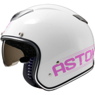 【東門城】ASTONE SPORSTER 381G K49 (白紫)經典復古安全帽