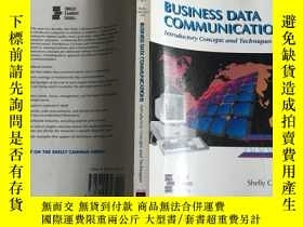 二手書博民逛書店英文原版罕見Business Data Communicatio
