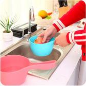 居家必備彩色加厚多用途水瓢 水勺 水舀 洗頭勺 『大號』#STD0A388-1#