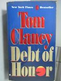【書寶二手書T9/原文小說_ICB】Debt of Honor_Tom Clancy