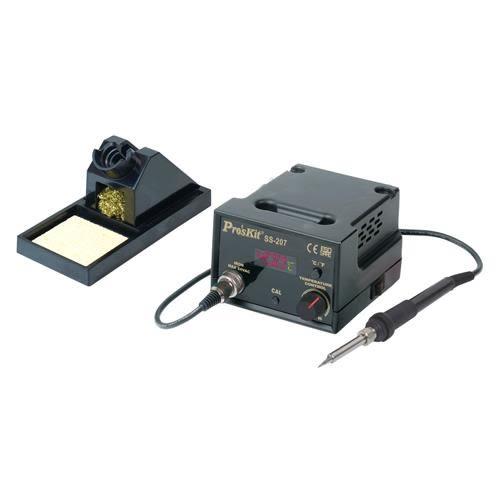 Pro sKit 寶工 SS-207E 防靜電數位溫控焊台AC110V