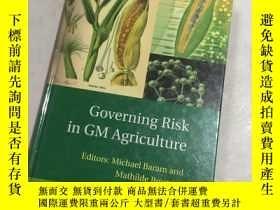 二手書博民逛書店GOVERNING罕見RISK IN GM AGRICULTURE轉基因農業的風險控制Y25607 GOVER