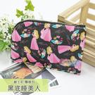 ☆小時候創意屋☆ 迪士尼 黑底睡美人 頸掛包 手機包 卡片包 零錢包 證件包 收納包 悠遊卡包 短夾
