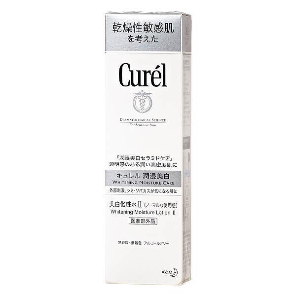 Curel 珂潤 潤浸美白保濕化粧水II (輕潤型) 140ml 效期2022.01【淨妍美肌】
