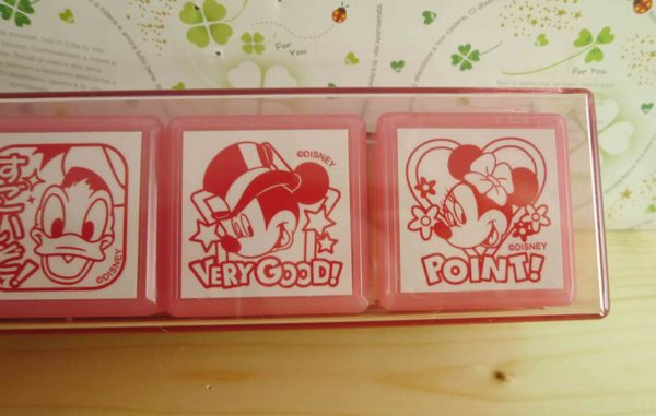 【震撼精品百貨】Micky Mouse_米奇/米妮 ~印章-粉