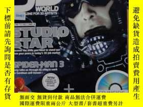 二手書博民逛書店3D罕見WORLD 92(HOW TO BECOME A STUDIO STAR) (英文原版)Y7353