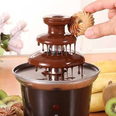 便攜式迷你款巧克力噴泉機 多彩色