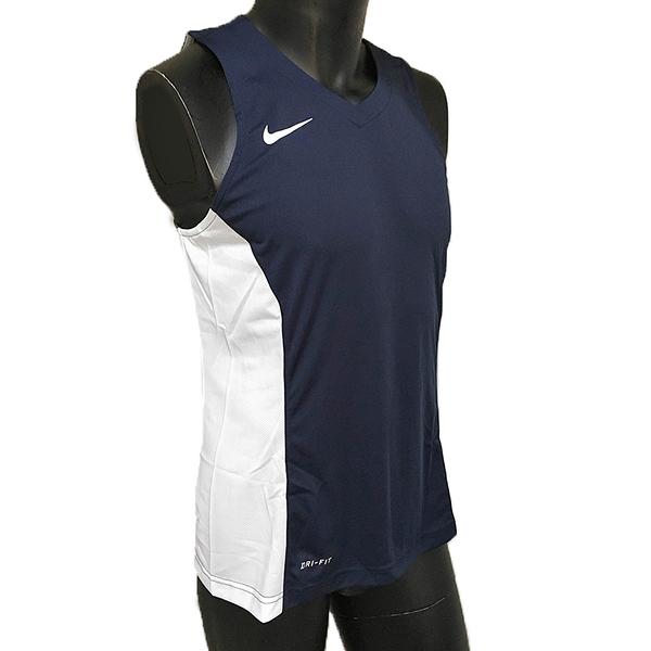 Nike AS Team League Tank [682904-451] 男 籃球 背心 透氣 單面 深藍