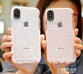 蘋果x手機殼iphonex新款8plus女款iphone7全包防摔8x水感6splus網紅潮牌 【東京衣秀】