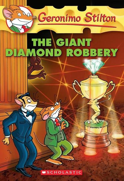 (二手書)Geronimo Stilton 44: Giant Diamond Robbery