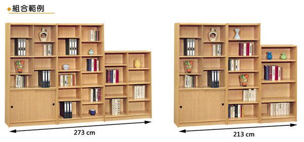 【森可家居】山毛櫸3x6尺組合書櫃(中立板空架) 8SB253-1