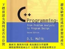 二手書博民逛書店C++罕見Programming: From Problem Analysis to Program Design