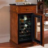 紅酒櫃 紅酒櫃恒溫酒櫃家用實木茶葉恒溫紅酒冰箱客廳櫃子小型冷藏櫃冰吧 MKS克萊爾