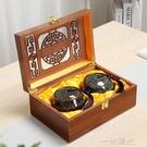 茶葉禮盒裝空盒中秋禮品普洱紅綠茶金駿眉通用陶瓷窯變茶葉罐木盒 一米陽光