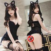 情趣內衣服性感貓女郎小胸平制服角色扮演夫妻大碼夜店sm激情套裝