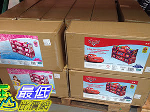 [COSCO代購] DISNEY PLASTIC ORGANIZER DISNEY 玩具收納櫃 C108346