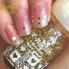 e-nail~(C2A / 蜜糖脆片晶透護層) 定色水指甲 / 可剝式水指甲