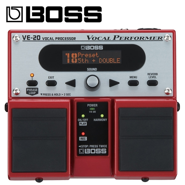 BOSS VE-20人聲效果器-原廠公司貨