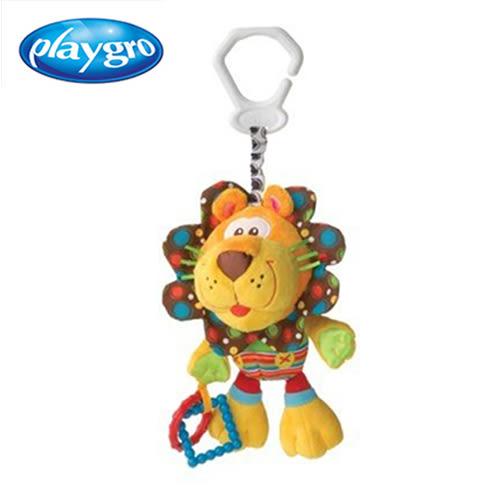 【playgro】活力小獅-吊飾玩具*媽寶*
