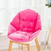 椅墊坐墊靠墊一體靠背板連體墊子【極簡生活】