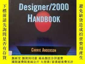 二手書博民逛書店The罕見Oracle Designer 2000 Handbo