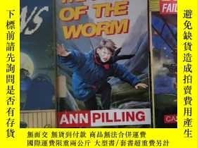 二手書博民逛書店the罕見year of the worm biggles fa