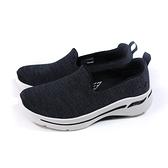 SKECHERS GOWALK 運動鞋 懶人鞋 女鞋 黑色 寬楦 124480WBKW no338