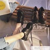 2020新款冬網紅韓版百搭加絨小皮鞋女英倫復古學生日系jk鞋基礎款  雙12購物節