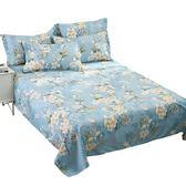 純棉床單三件套單人學生宿舍1.2棉布被單單件全棉雙人1.8m2.0米床第七公社