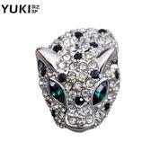 新年好禮 YUKI韓國飾品西裝西服男士豹子胸針男氣質領針領扣女配飾個性潮人