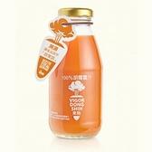 【南紡購物中心】【活力東勢】100%胡蘿蔔汁(24瓶/箱)