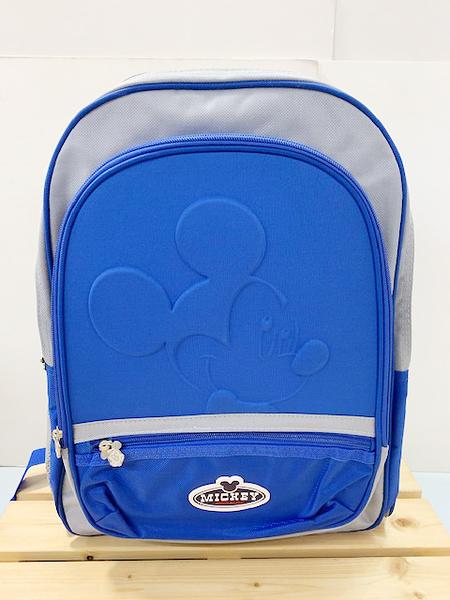 【震撼精品百貨】米奇/米妮_Micky Mouse~ 迪士尼後背包-浮雕米奇藍#70516