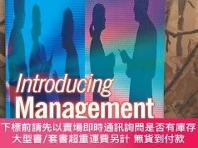二手書博民逛書店Introducing罕見Management a development guide for new manag