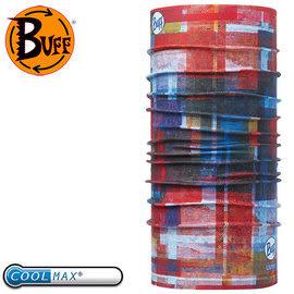 丹大戶外【BUFF】西班牙魔術頭巾 coolmax春夏款 抗UV BF111434-555 洗舊格紋