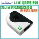 LINE網關轉接器總機節費器LineBOX與市話共用話機