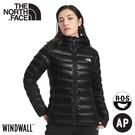 【The North Face 女 800FP 防潑水外套《黑》】4NAJ/保暖連帽外套/防潑水/休閒連帽外套