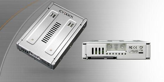 MB982IP-1S-1雙通道 2.5吋轉3.5吋 SAS HDD & SSD 轉接盒