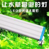 (萬聖節鉅惠)燈座燈管高透光魚缸燈水草燈魚缸燈led燈水族箱照明燈LED組合色高亮度架燈