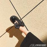 日繫原宿學院軟妹鬆糕厚底鞋圓頭蝴蝶結娃娃鞋少女小皮鞋潮   潮流前線
