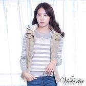 Victoria 活動帽絲棉背心-香檳金-V4514371