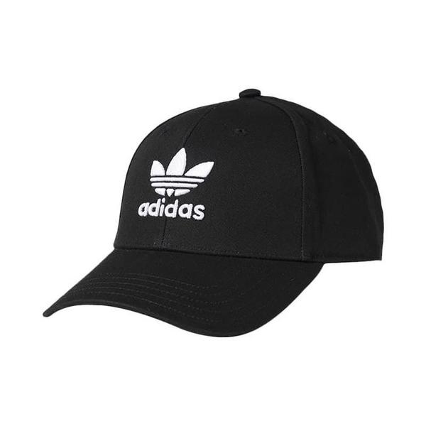 *Adidas Originals Logo 黑 三葉草 老帽 2019新款 EC3603