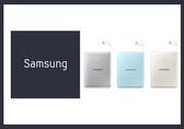 *全館免運*SAMSUNG 三星原廠 8400mAh 極簡版 行動電源 (柔光藍/螢光白/素光銀) (盒裝)