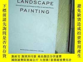 二手書博民逛書店LANDSCAPE罕見PAINTING 精裝Y203004
