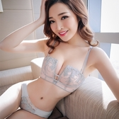 內衣女無鋼圈性感收副乳小胸胸罩套裝薄款女士聚攏調整型上托文胸