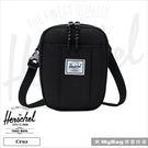 Herschel 側背包 黑色 萬用休閒斜背包 手機隨身包 Cruz-001 得意時袋