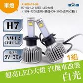 LED汽車大燈改裝 H7-XM-L2 CREE LED大燈-兩顆一組 (X-200-01-04)