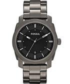 FOSSIL 爵士都會時尚腕錶/手錶-槍灰色 FS4774