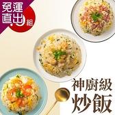 熱一下即食料理 神廚級炒飯(蝦仁/火腿/雞肉) 任選15包(180g/包)【免運直出】