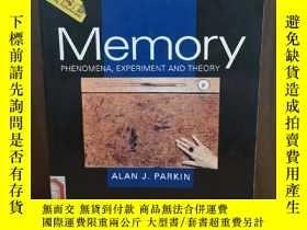 二手書博民逛書店Title:罕見Memory Phenomena Experim